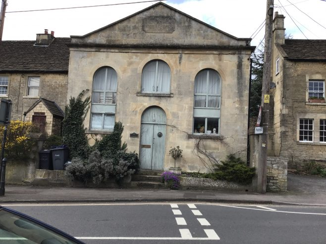 former Bradford on Avon Primitive Methodist chapel | Janet and Maurice Felstead March 2020