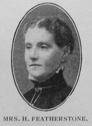 Featherstone, Hannah (nee Harrison) (1844-1916)