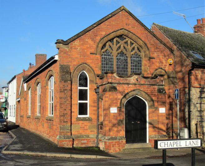 former Newbold on Stour Primitive Methodist chapel | Anne Langley 2019