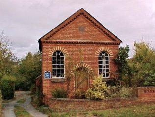 Ruckhall Primitive Methodist Chapel Herefordshire