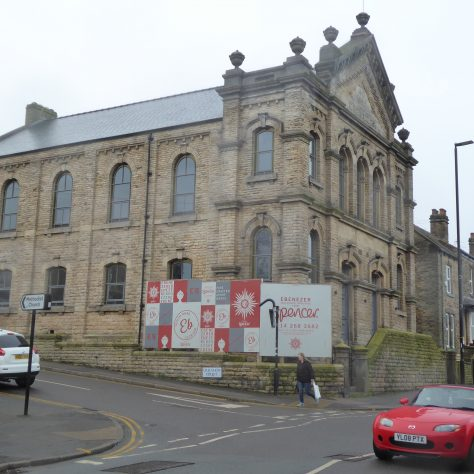 01 Sheffield, Walkley, South Street, Ebenezer PM Chapel, south and east sides, 14.2.2020