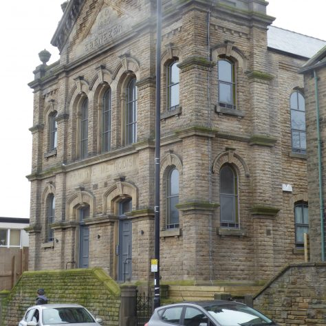 02 Sheffield, Walkley, South Street, Ebenezer PM Chapel, from north, 14.2.2020