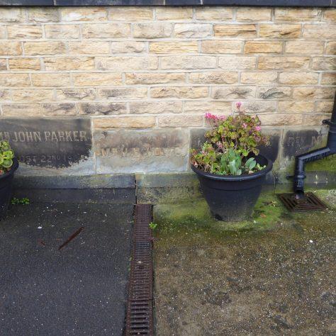 11 Sheffield, Walkley, South Street, Ebenezer PM Chapel, foundation stones of 1904 building (ii), 14.2.2020