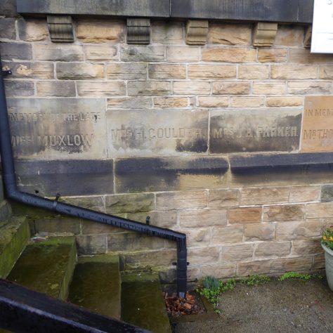 12 Sheffield, Walkley, South Street, Ebenezer PM Chapel, foundation stones of 1904 building (iii), 14.2.2020
