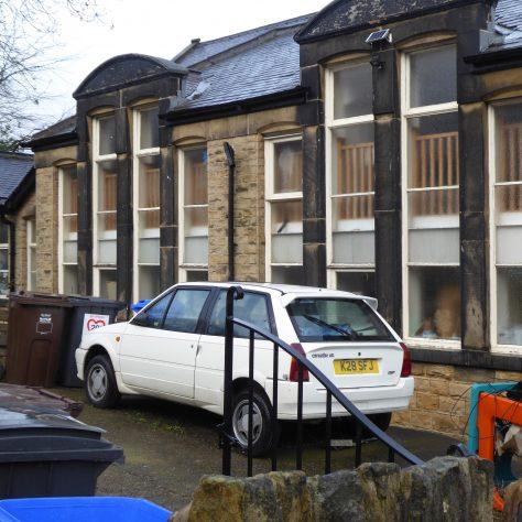 15 Sheffield, Walkley, South Street, Ebenezer PM Chapel, side of institute, 14.2.2020