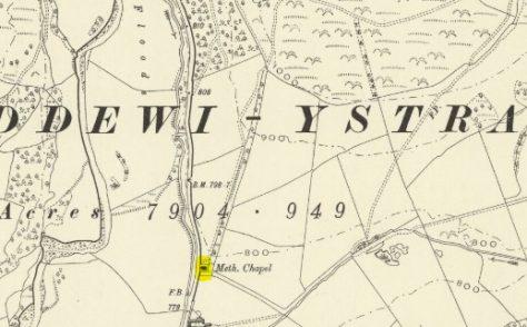 Llandewi Ystradenny PM chapel, Powys