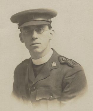 Walter Hammersley, WW1 Chaplain | Supplied by David Sharp