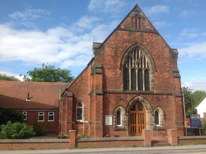former Hasland Primitive Methodist Church; now Hasland Methodist church | Val Davies, June 2020
