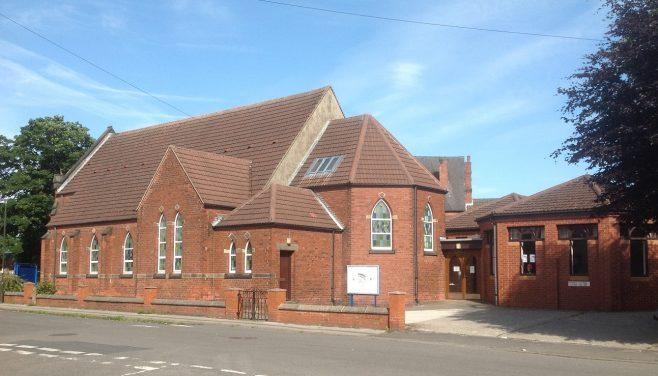 former Hasland Primitive Methodist Church | Val Davies,Steward and Treasurer for Hasland Methodist Church; June 2020