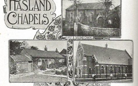 Hasland Primitive Methodist chapels