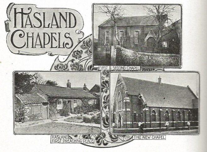 Hasland Primitive Methodist chapels | Kendall A History of the Primitive Methodist Church vol 1 p.498