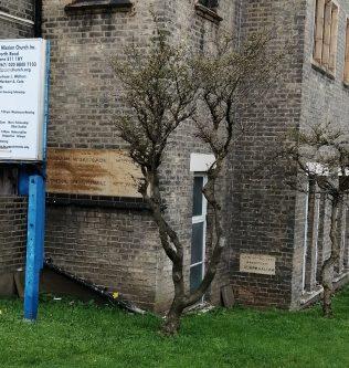 Foundation stone Leytonstone PM Chapel