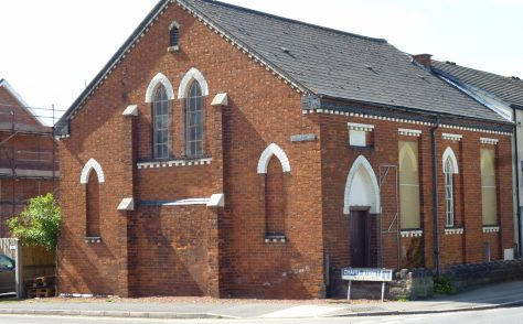 Headless Cross Primitive Methodist chapel