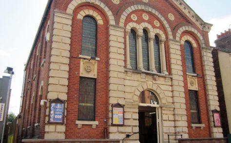 Rugby Railway Terrace Primitive Methodist chapel