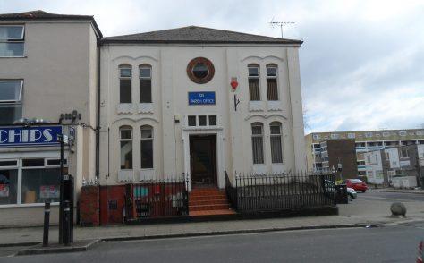 Southampton, St Mary Street Primitive Methodist Chapel