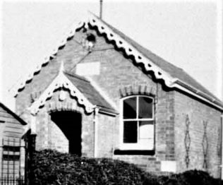 Stretton on Dunsmore Primitive Methodist Chapel in the early 20th century | provided by Anne Langley