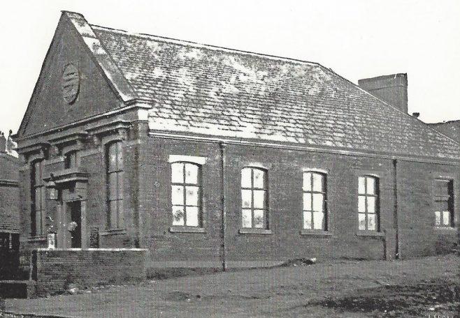 Bradford New Hey Road Primitive Methodist chapel | Englesea Brook postcard collection ENBPM:2020.097