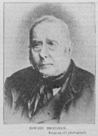 Brougham, Edward (1791-1870)