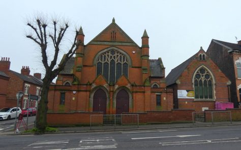 Leicester Humberstone Road  Primitive Methodist chapel
