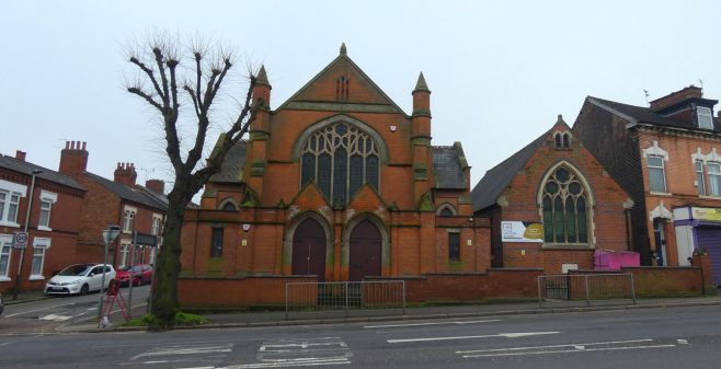 former Humberstone Road Primitive Methodist chapel and Sunday School, Leicester | Charles de Podesta February 2021