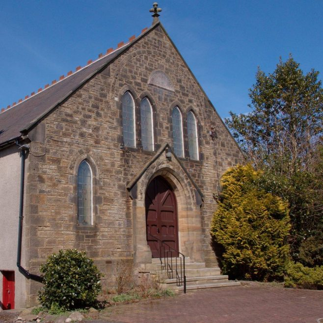 Exterior of Burnhope Park Primitive Methodist Chapel.