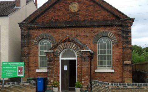 New Brimington Mount Tabor Primitive Methodist chapel