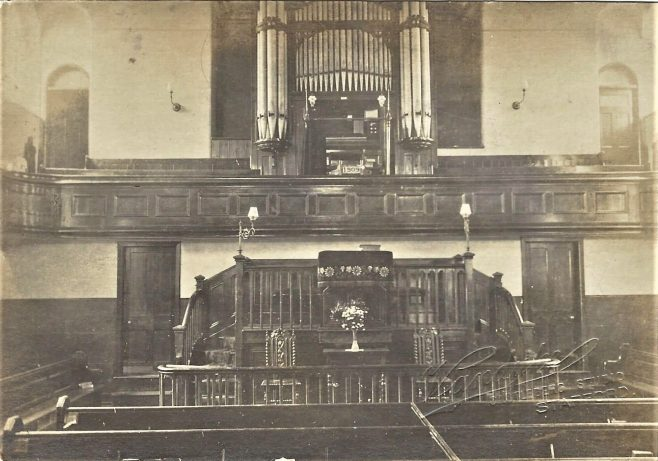 Stafford Primitive MEthodist chapel: from an undated post card | provided by Randle Knight