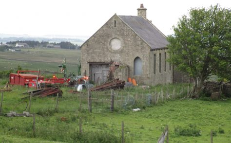 Waskerley Primitive Methodist chapel