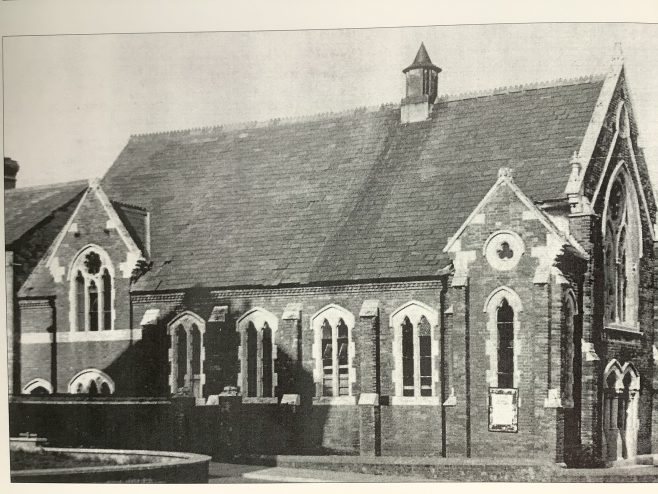 Weymouth St Leonards Road Primitive Methodist chapel in the 1950s | from the book