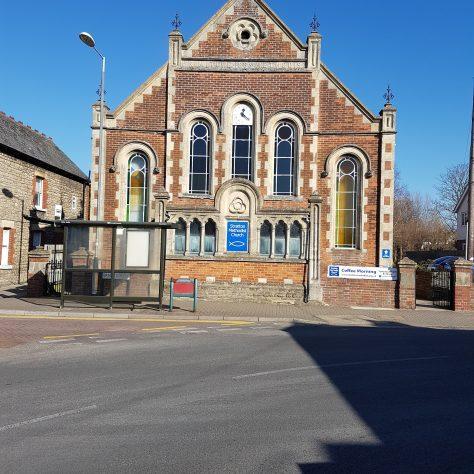 Swindon: Stratton Methodist Church front | Graham Crawshaw 2020