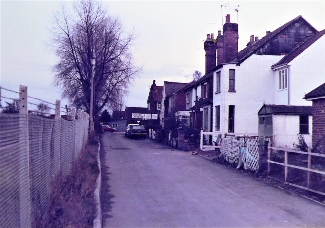 The old chapel (1866) at the end of chapel lane next to Smith's sign. | Supplied by Alan Clifford