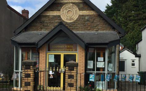 Llandaff Primitive Methodist chapel