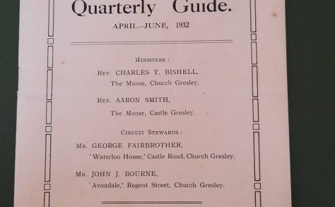 Church Gresty Circuit 1932 Q2