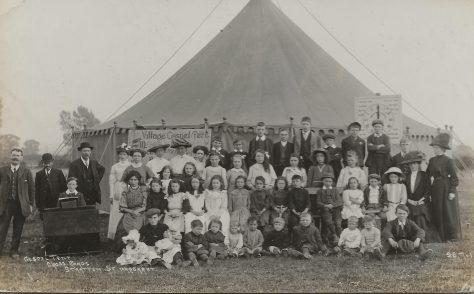 Mr Macphie's gospel mission tent