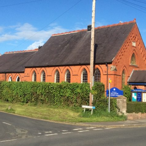 Willaston (Wirral) PM chapel  1889 | Christopher Wells September 2020