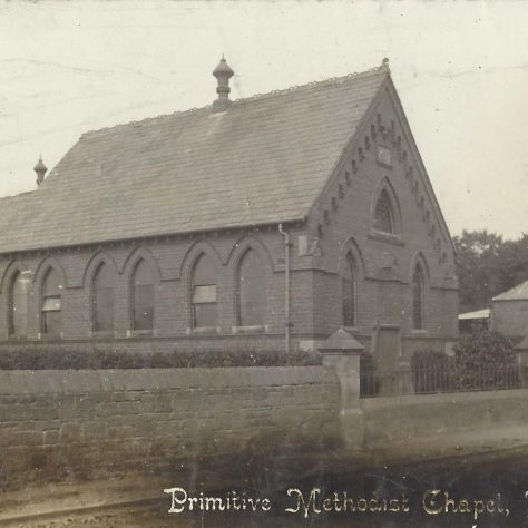Willaston Primitive Methodist chapel: from a postcard sent in 1908 | provided by Randle Knight