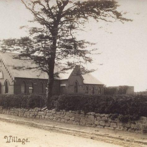 Willaston (Wirral) PM chapel  1889: early Twentieth Century postcard   Christopher Wells September 2020