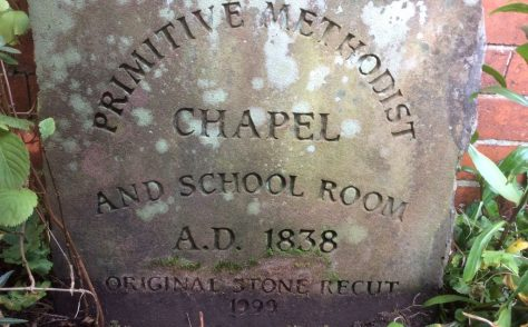 Willaston Primitive Methodist chapel 1838, Wirral
