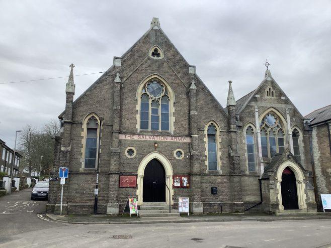 former Dorchester Primitive Methodist chapel   Martin Reeves 2020