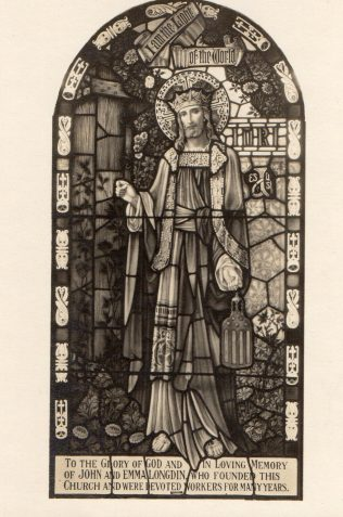 Memorial Window unveiled in 1926. This picture and two documents below are from my grandfather William Longdin Young, whose grandfather John Longdin founded the Primitive Methodist Church in Bradford Road, Manchester. My father David unveiled the Memorial window. | Brenda Rathmell