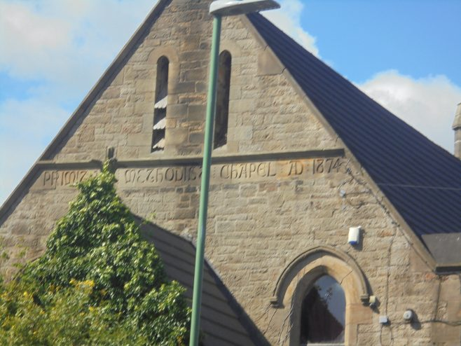 Oxhill Primitive Methodist  Church, Kyo (Stanley), Co Durham