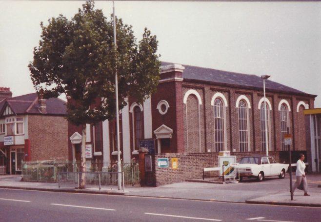 High Street South Primitive Methodist church   Englesea Brook collection : ENBPM:2020.113a