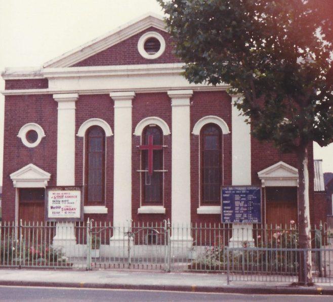 High Street South Primitive Methodist church   Englesea Brook collection: ENBPM:2020.113b