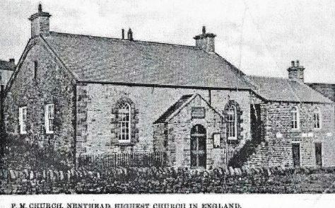 Nenthead Primitive Methodist chapel