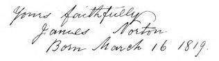 Norton, James (1819-1893)