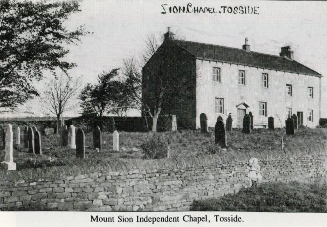 Sandy- Syke Chapel, Gisburn also known as Mt Zion or Sion Chapel, Tosside.