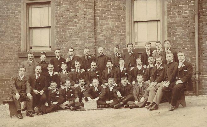 Clay Cross Primitive Methodist Men's Group - the Happy Band | Revd David Sharp ENBPM:2020.148