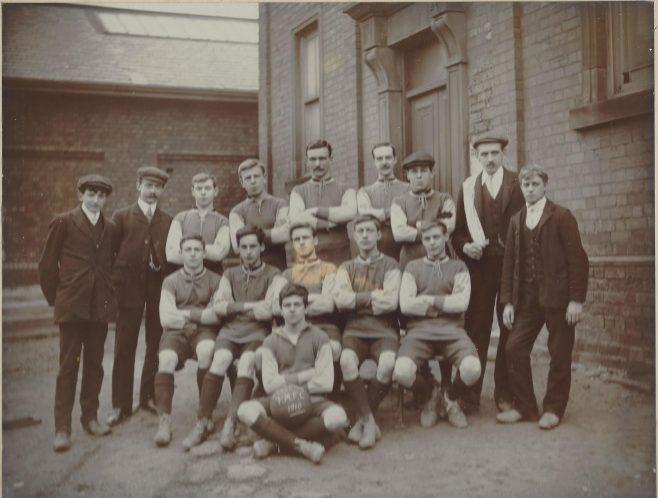 Clay Cross Primitive Methodist football team  | Revd David Sharp ENBPM:2020.147