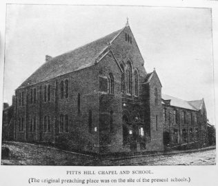 Primitive Methodism in Tunstall