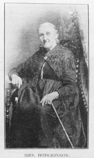 Hodgkinson, Christiana (nee Jones) (1832-1917) - The Showman's Daughter